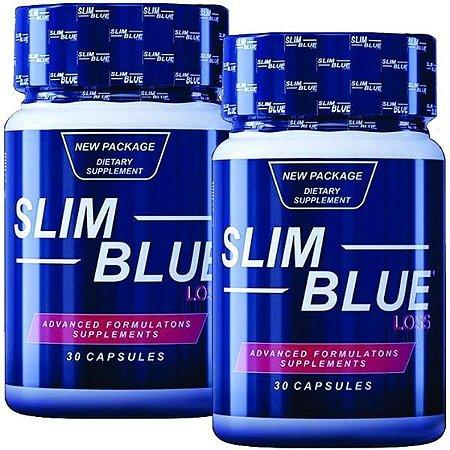 Slim Blue Loss 30 cáps - kit 2 unidades