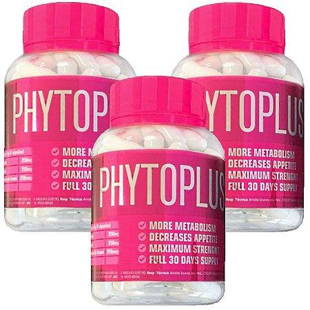 Kit Phytoplus X - 60 Cáps - 3 unidades