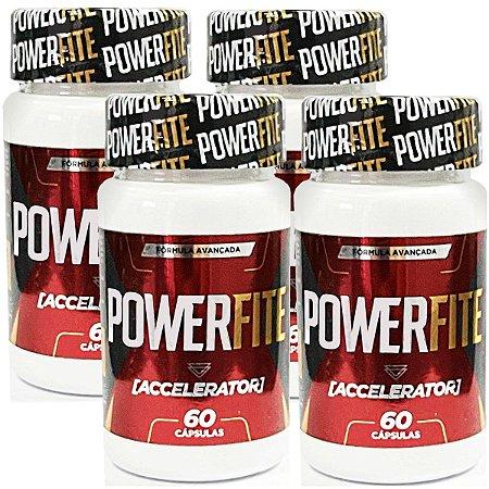 Power Fite 60 cáps - kit 4 unidades