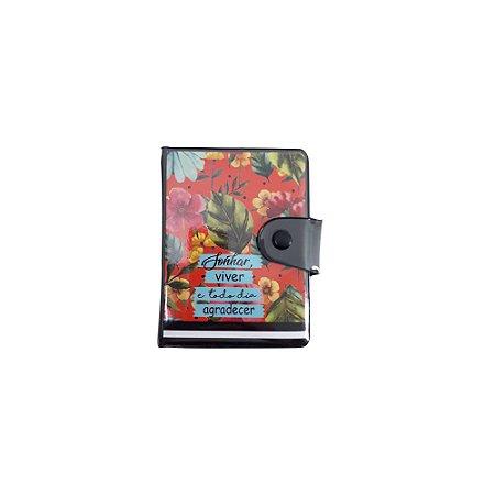 Porta cartão tropical paty
