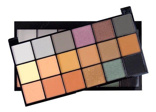 Paleta de Sombras 18 Cores Playboy