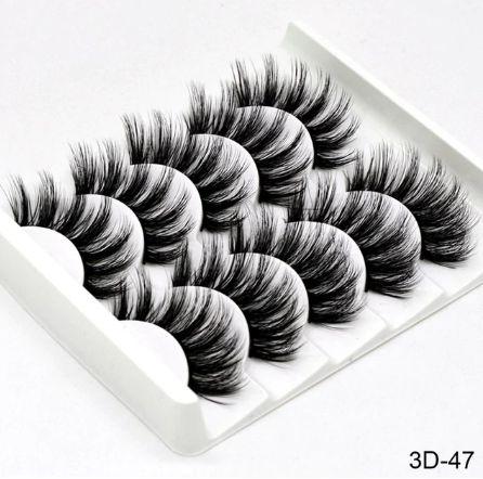 Kit 5 pares de cílios 3D-47 Sexysheep