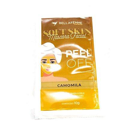 Máscara Facial Peel Off Camomila Soft Skin Bella Femme