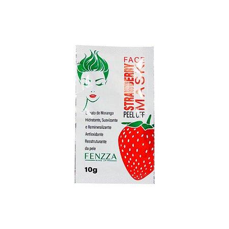 Máscara Facial Strawberry Mask Sachê 10g Fenzza