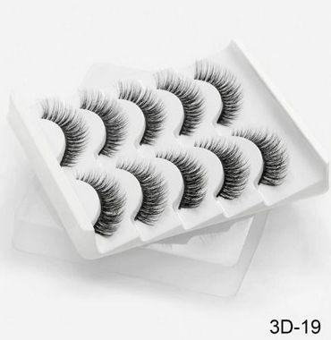 Kit 5 pares de cílios 3D-19 Sexysheep