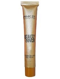 Base Líquida Facial Beauty Cover Foundation Pink 21