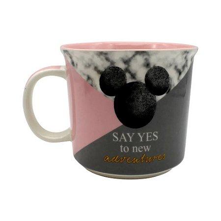 Caneca Disney Mickey Say Yes 350ml