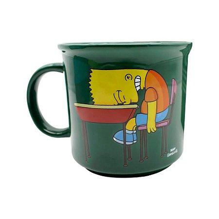 Caneca Os Simpsons Bart Lousa 350ml