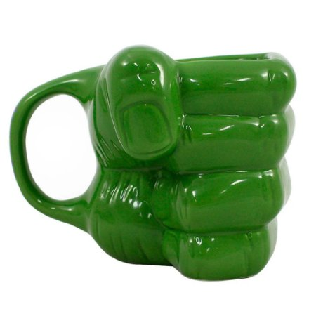 Caneca Marvel Mão do Hulk 400ml