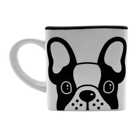 Caneca Cubo Bulldog 300ml