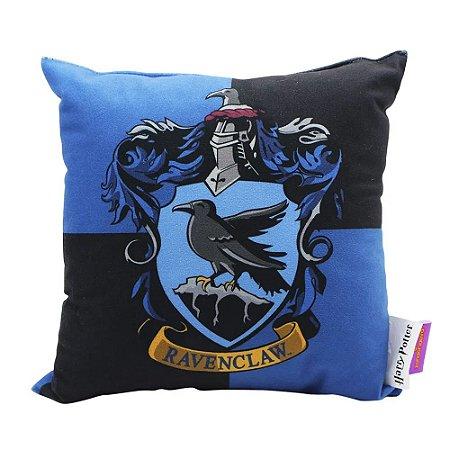 Almofada Fibra Veludo 25x25 Harry Potter Corvinal