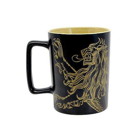 Caneca Game of Thrones Lannister Alça Quadrada 500ml