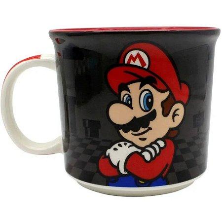 Caneca Nintendo Mário Black 350ml
