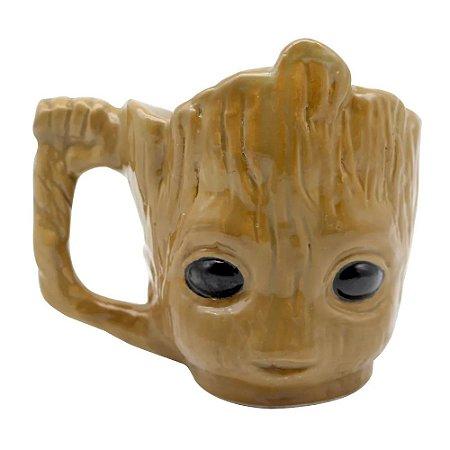 Caneca Marvel 3D Baby Groot 400ml