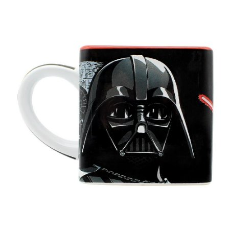 Caneca Cubo Star Wars Darth Vader 300ml