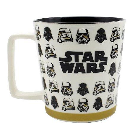 Caneca Star Wars Buck Vader e Stormtrooper 400ml