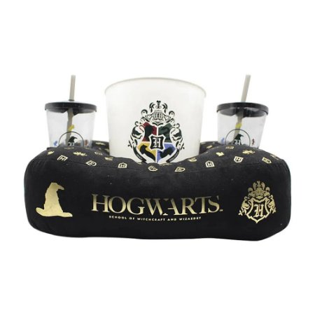 Kit Almofada Porta Pipoca Harry Potter