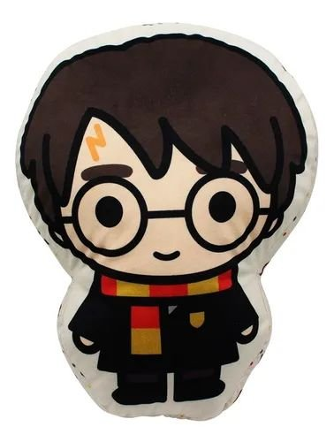 Almofada Fibra Veludo Harry Potter