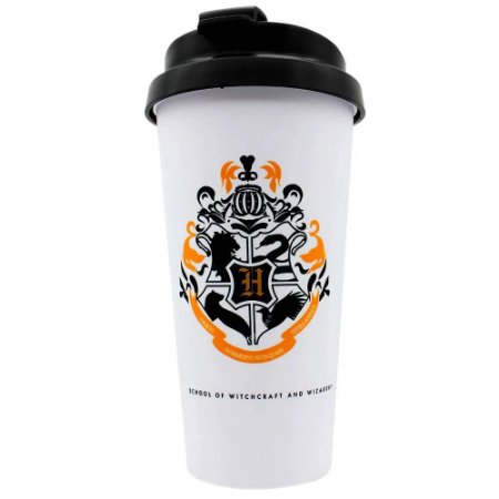 Copo Térmico Harry Potter Hogwarts Alumni 500ml