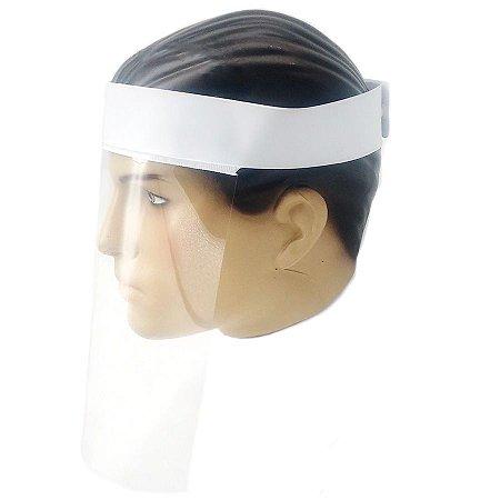 Visor Protetor Facial Reutilizável Tamanho Ajustável