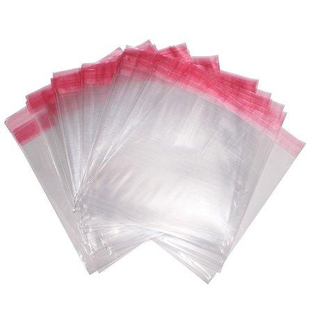 Saco Plástico Adesivado BOPP Diversos Tamanhos Milheiro