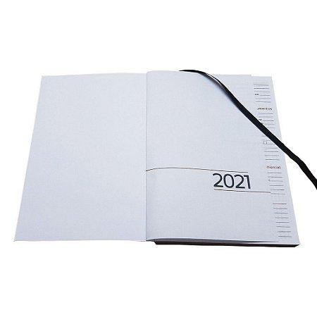 Miolo de Agenda 2021 Costurado Brochura