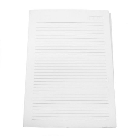 Miolo de Caderno Universitário Pautado Grande 20x28 cm 100 folhas