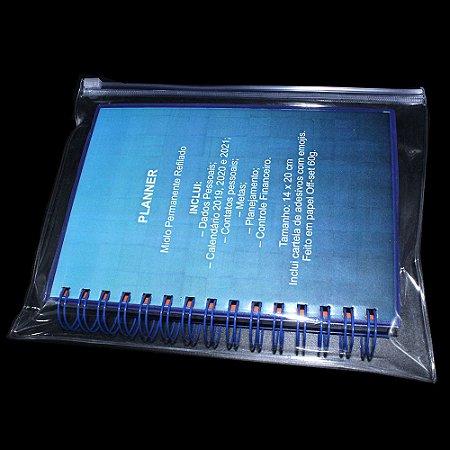 Case Para Agenda Com Zíper 20x25,5 cm