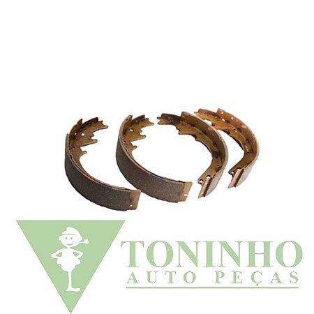 JOGO DE SAPATA DE FREIO TRASEIRA CHEVROLET S10/BLAZER (2264191)