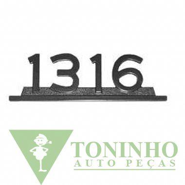 EMBLEMA 1316 PRETO ORIGINAL (3458179614)