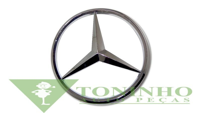 Estrela Grade Cromada 200Mm - Mercedes (4068100018)