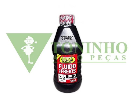 FLUIDO FREIO VARGA DOT-3 500ML (RCLF00021)