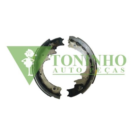 Jogo Sapata C/ Lona Freio Traseira FORD F4000 (BG7T2201AA)