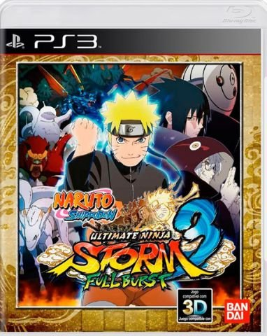 Naruto Shippuden: Ultimate Ninja Storm 3: Full Burst - Playstation 3 - PS3