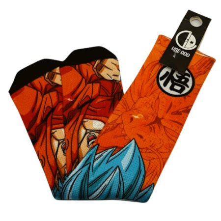 Meia Cano Longo Estampado Dragon Ball Z -Goku Super Sayajin Blue