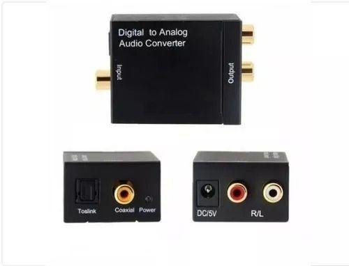 Conversor Áudio Óptico Digital Para Rca Analógico - Knup