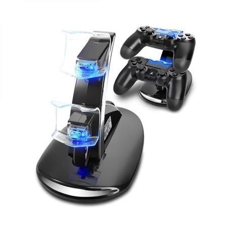 Suporte Carregador Para PS4 Controle Slim & Pro -Kingo