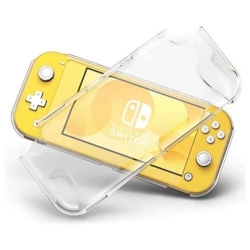 Case protetora para Nintendo Switch Lite frente e verso - Transparente