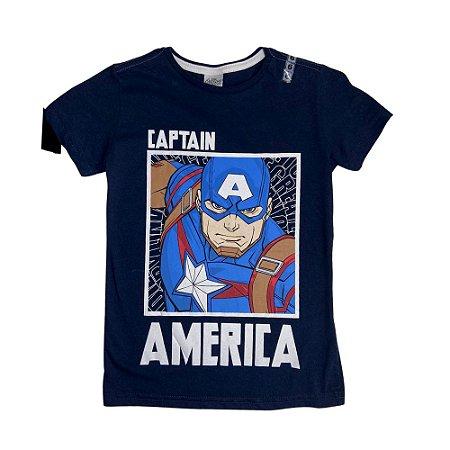 Conjunto Curto Infantil Captain America