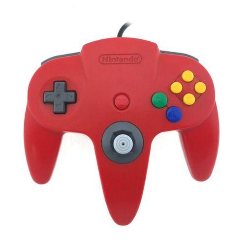 Controle Nintendo 64 Vermelho