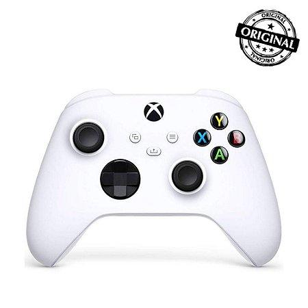Controle Microsoft Xbox Series S Sem Fio Branco