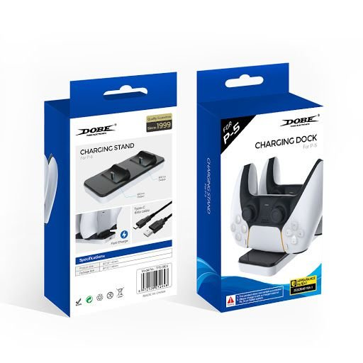 Base Carregadora Para Controle Dualsense 5  PS5 com Suporte Dobe