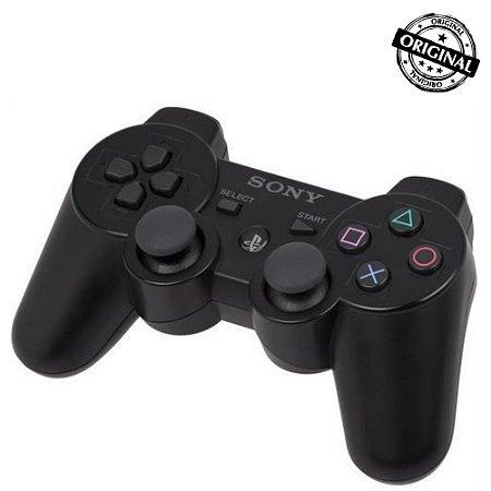 Controle PS3- Seminovo Preto - Original