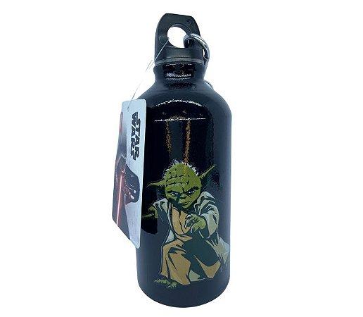 Garrafa de Alumínio 500ml Mestre Yoda Star Wars