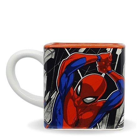 Caneca C/ Alça Redonda 300ml Spider-Man