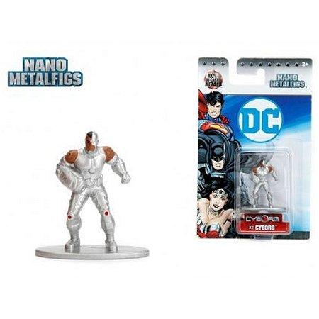 Nano Metalfigs Cyborg -DC
