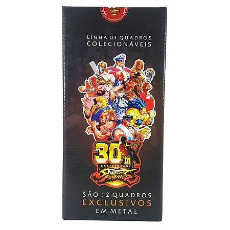 12 Quadros Exclusivos 30th Street De Metal 26cm ×10cm Collection 1