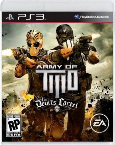 Army of Two The Devil's Cartel - Playstation 3 - PS3
