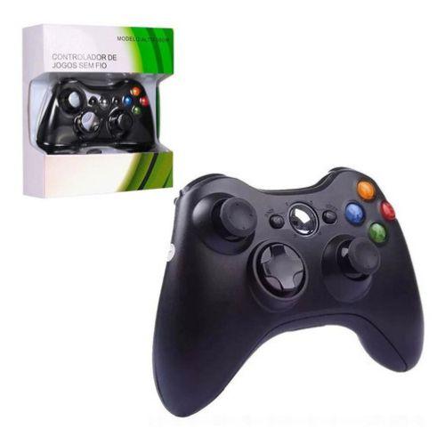 Controle para Xbox 360 Sem Fio Wireless Joystick