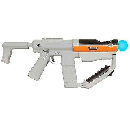 Metralhadora Sharp Shooter Cinza PS Move Sony - PS3